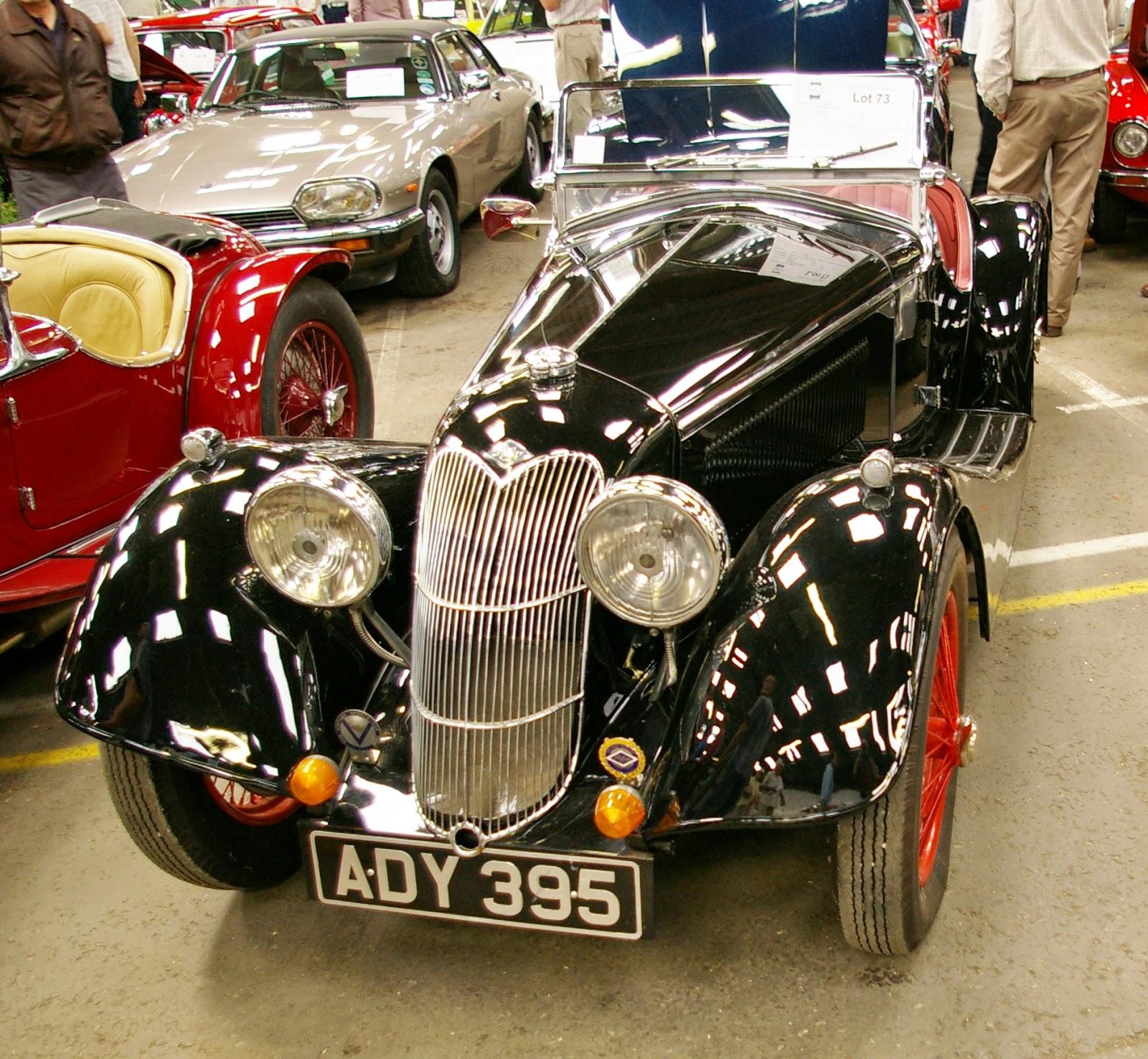 Car Auctions - Brightwells - Leominster Auction June 2009