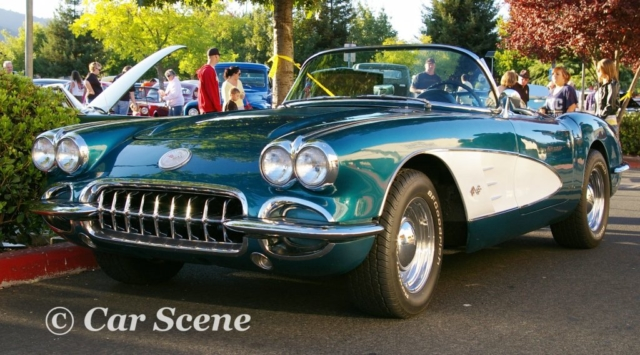 1958 Chevrolet Corvette front three quarters view