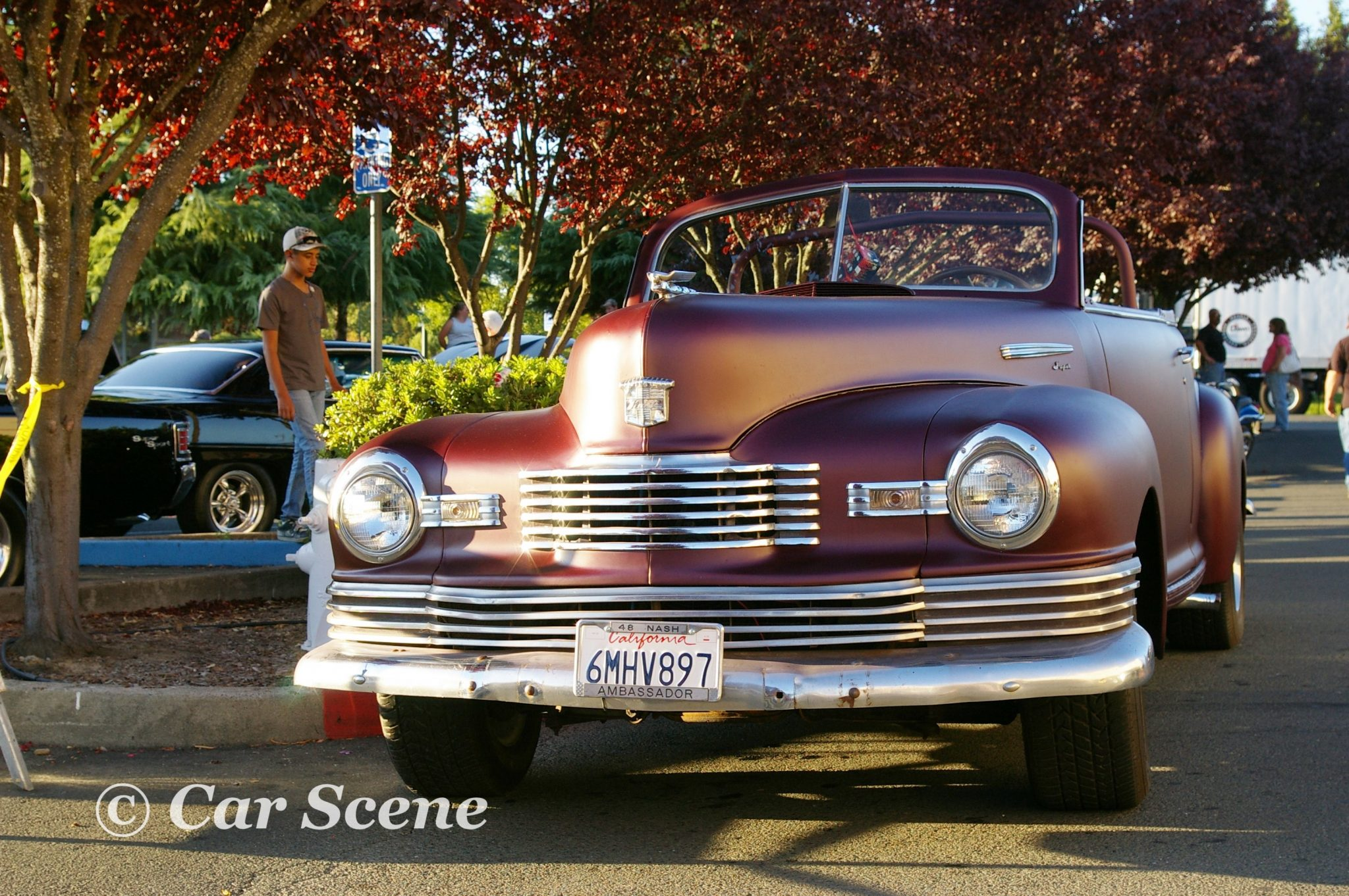 1948 Nash Ambassador Convertible front view