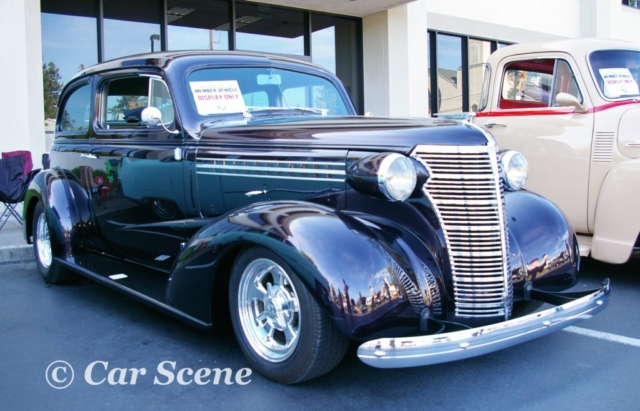 1938 Chevrolet 2 Door Sedan front three quarters view