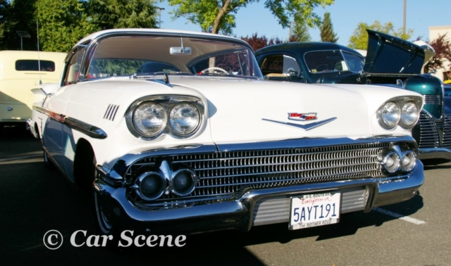1958 Chevrolet Impala 2 door hardtop front view