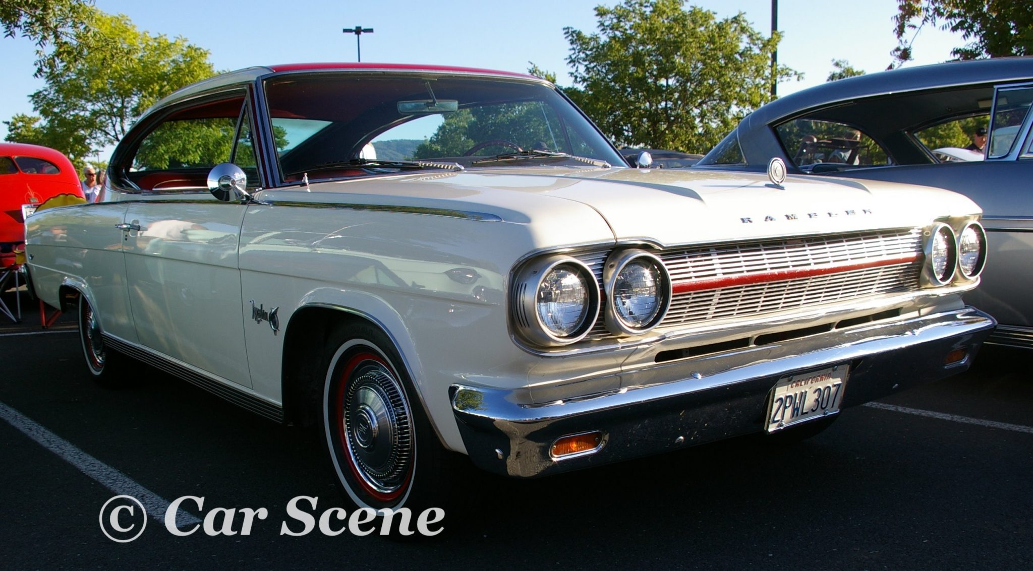 1965 Nash Rambler Marlin front three quarters view