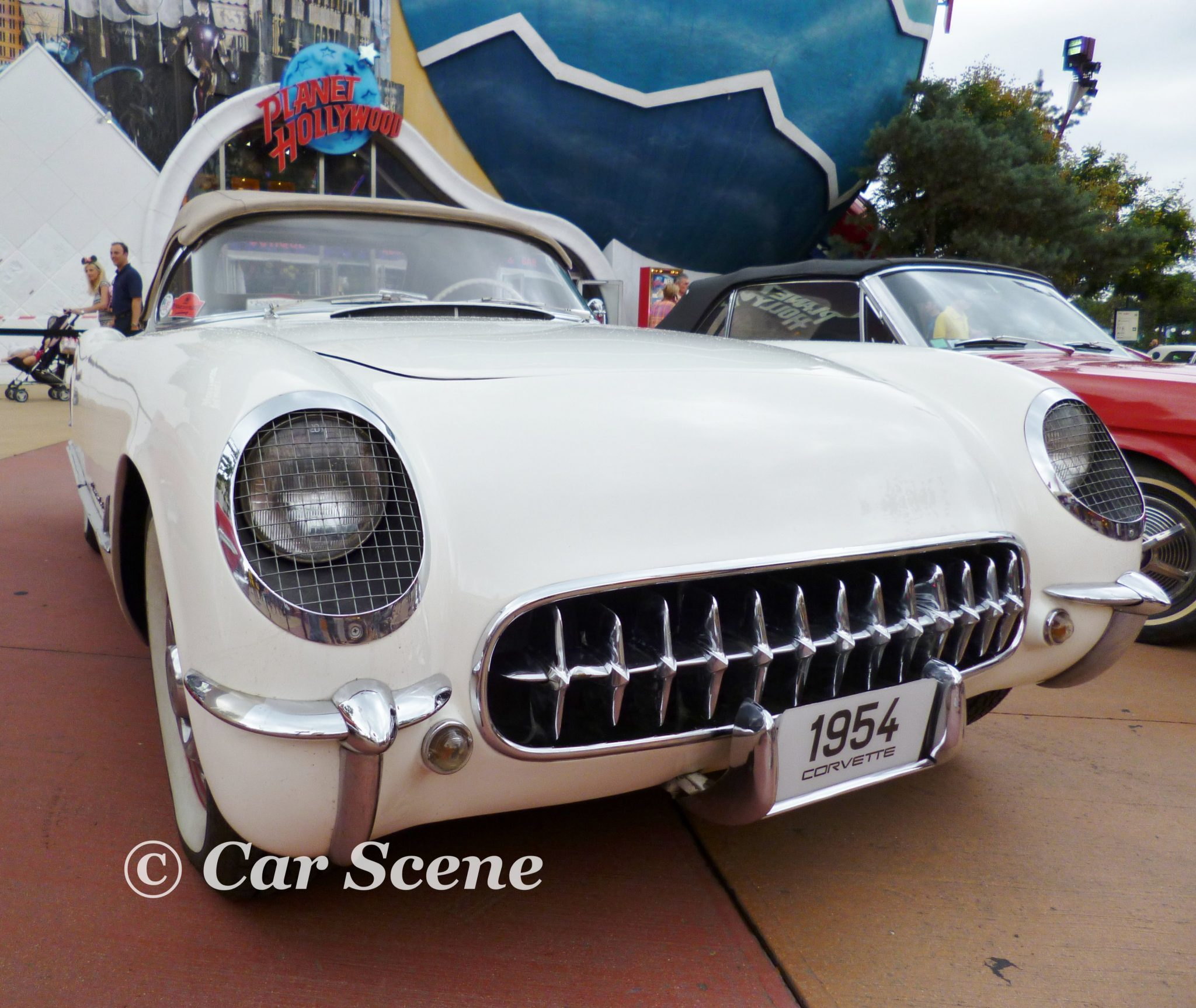 1954 Chevrolet Corvette front view