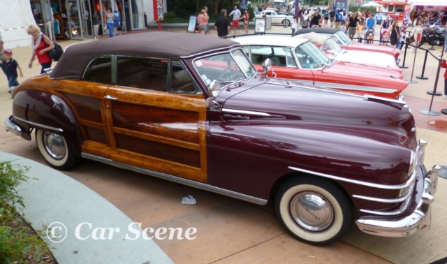 1948 Chrysler Town & Country Convertible side view