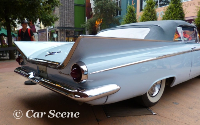 1959 Buick Le Sabre Convertible rear side view