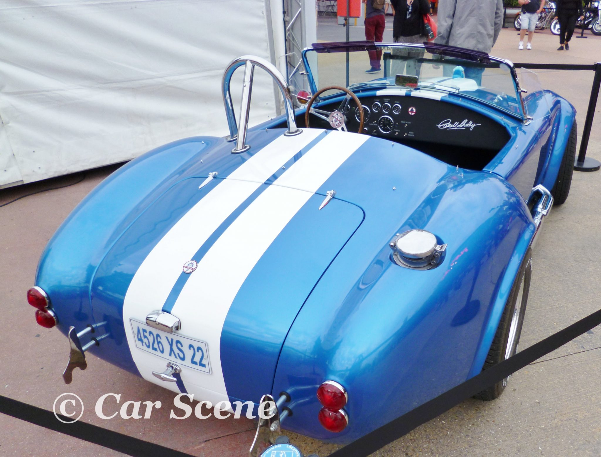 c 1966 Shelby AC Cobra (Ford 427 V8) view form rear