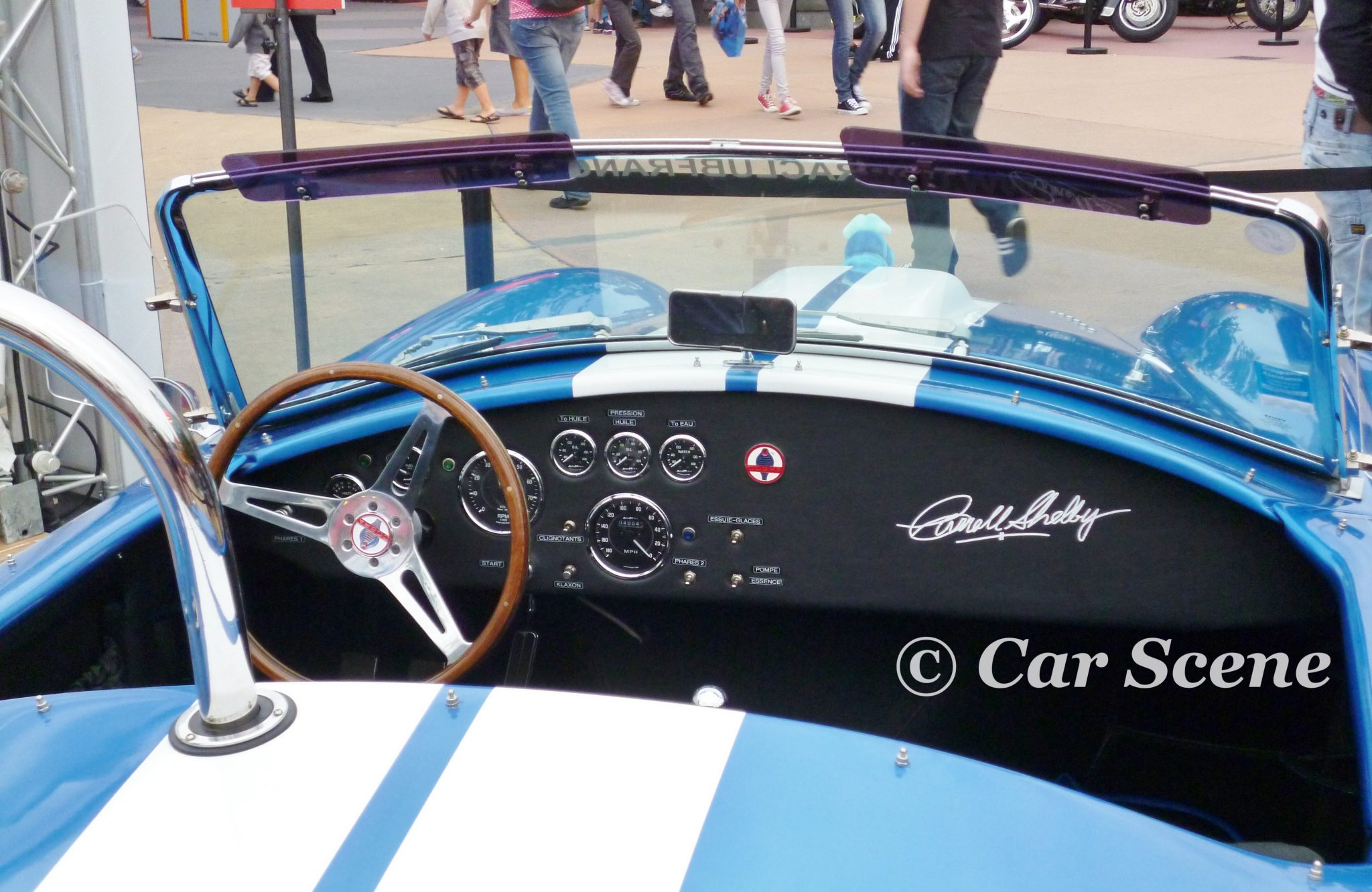 c1966 Shelby AC Cobra (Ford 427 V8) Cockpit 2