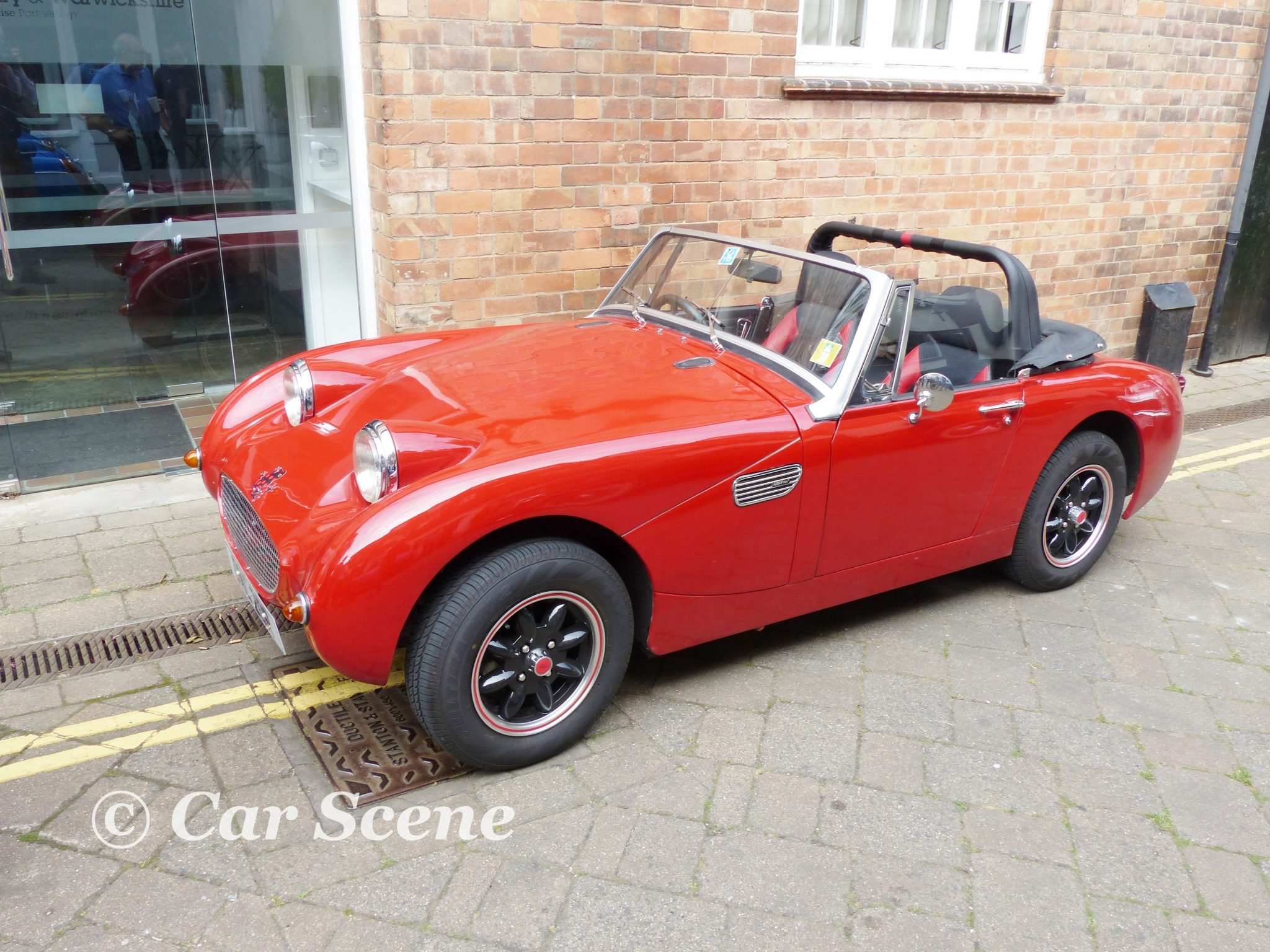 Mk1 Austin Healey Sprite replica front side view