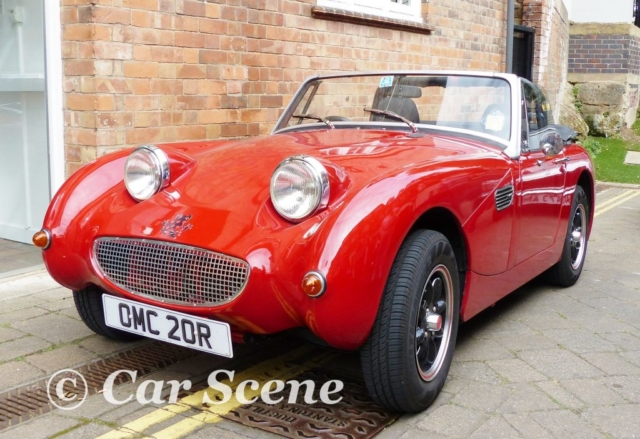 Mk1 Austin Healey Sprite replica front view