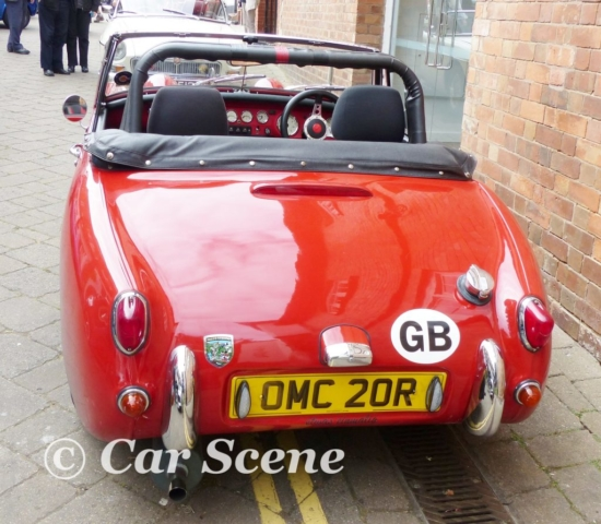 Mk1 Austin Healey Sprite replica rear view