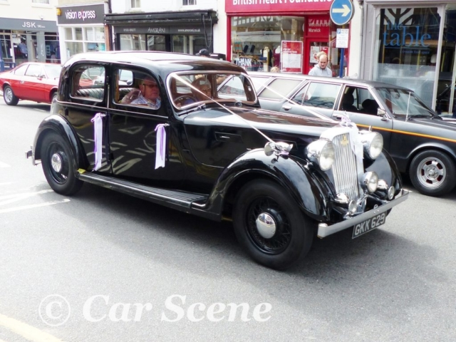 1937 Rover 14HP front side view