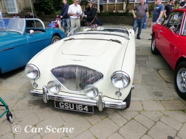 1955 Austin Healey 100M front view