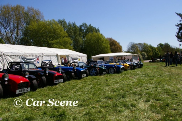 Caterham 7 Club at Stoneleigh