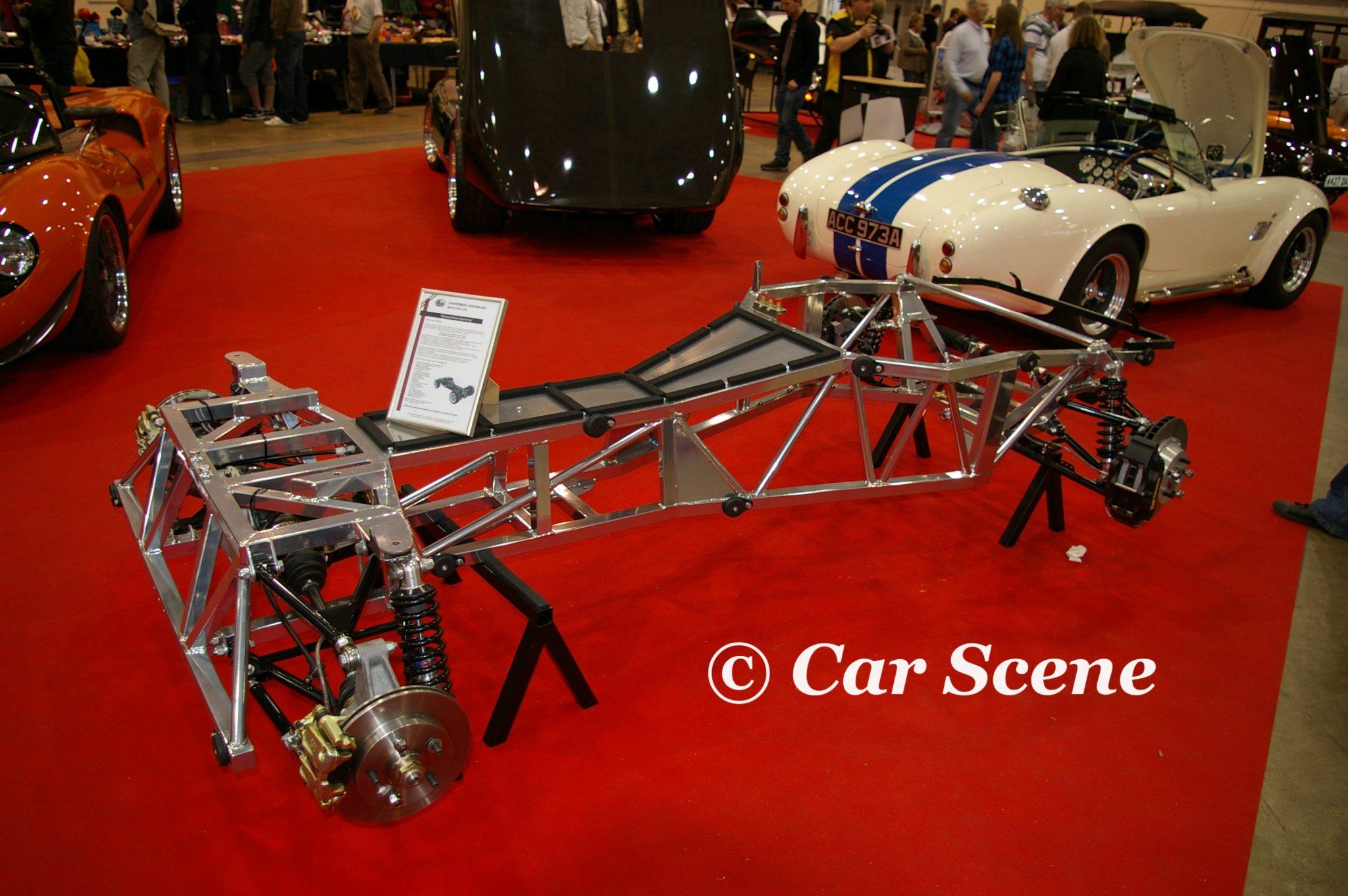 Gardner Douglas Cobra chassis view