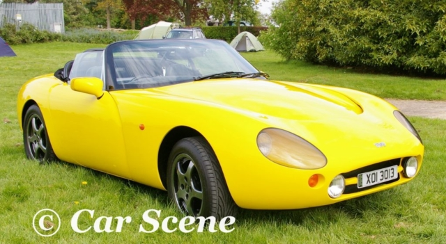 TVR Griffith front three quarters view