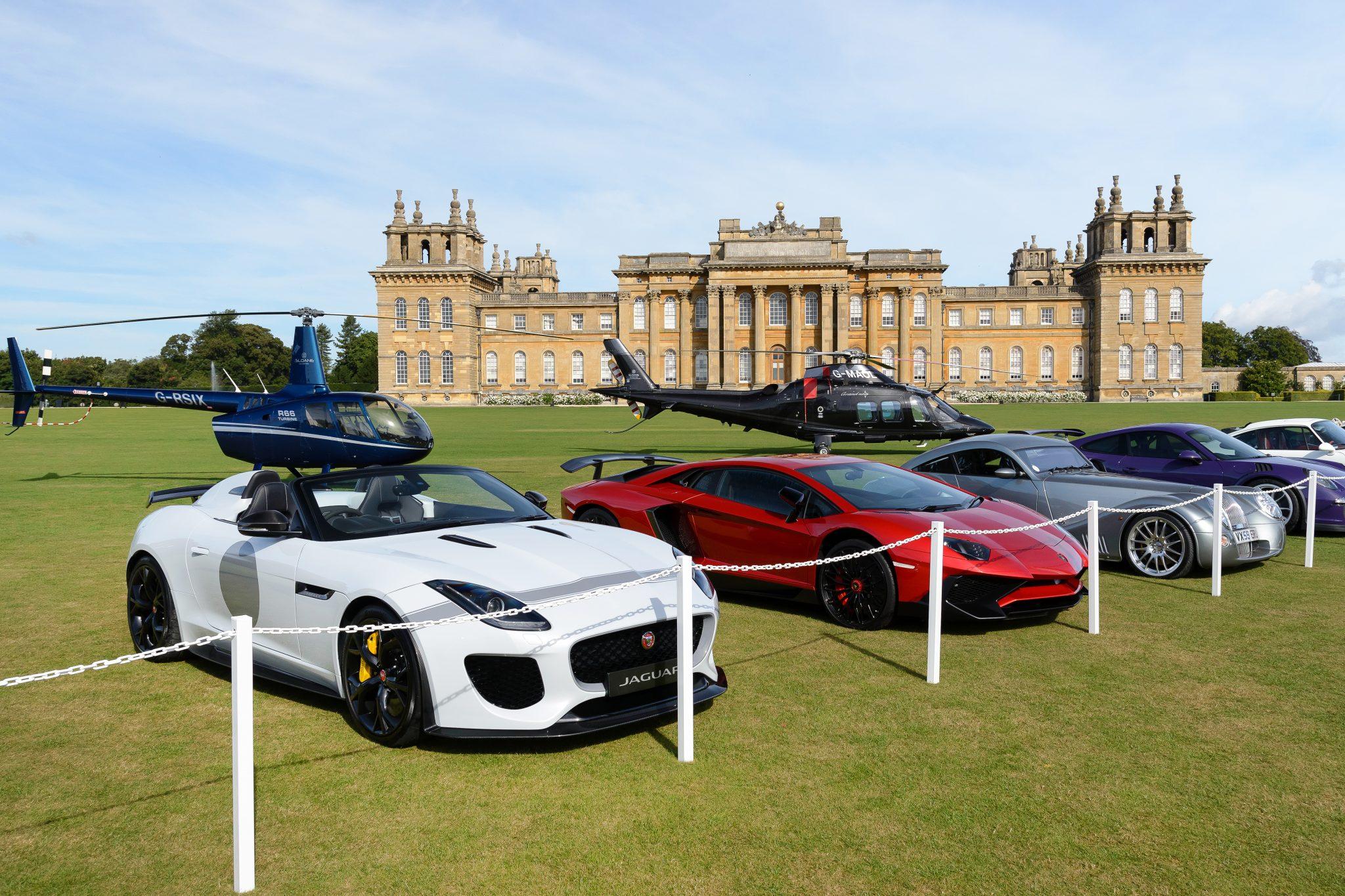 Blenheim Palace Car Show