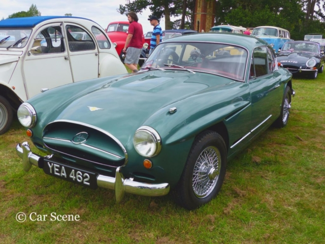 c.1957 Jensen 541R front view photographed at Chateau Impney July 2017