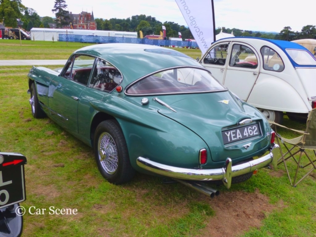 c.1957 Jensen 541R rear view photographed at Chateau Impney July 2017