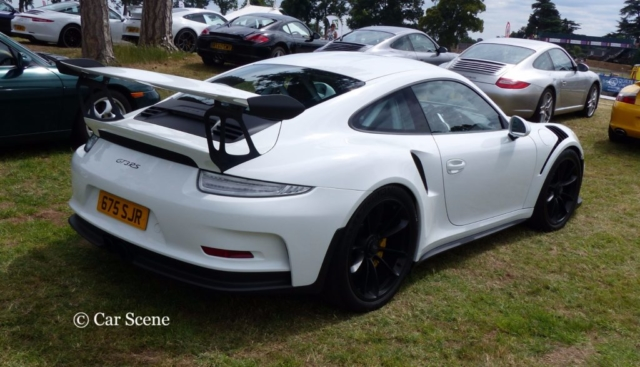 Porsche 911 GT3 RS photographed at Chateau Impney July 2017