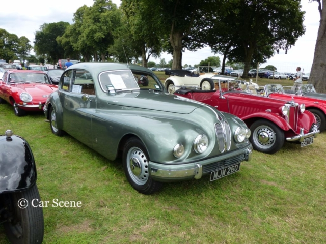 c.1950 Bristol 401 front view photographed at Chateau Impney July 2017