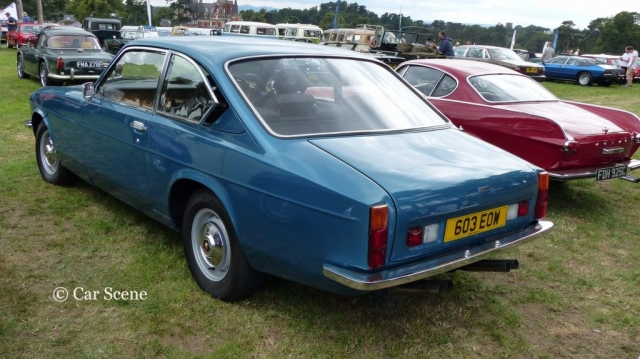 Bristol 603 rear view photographed at Chateau Impney July 2017
