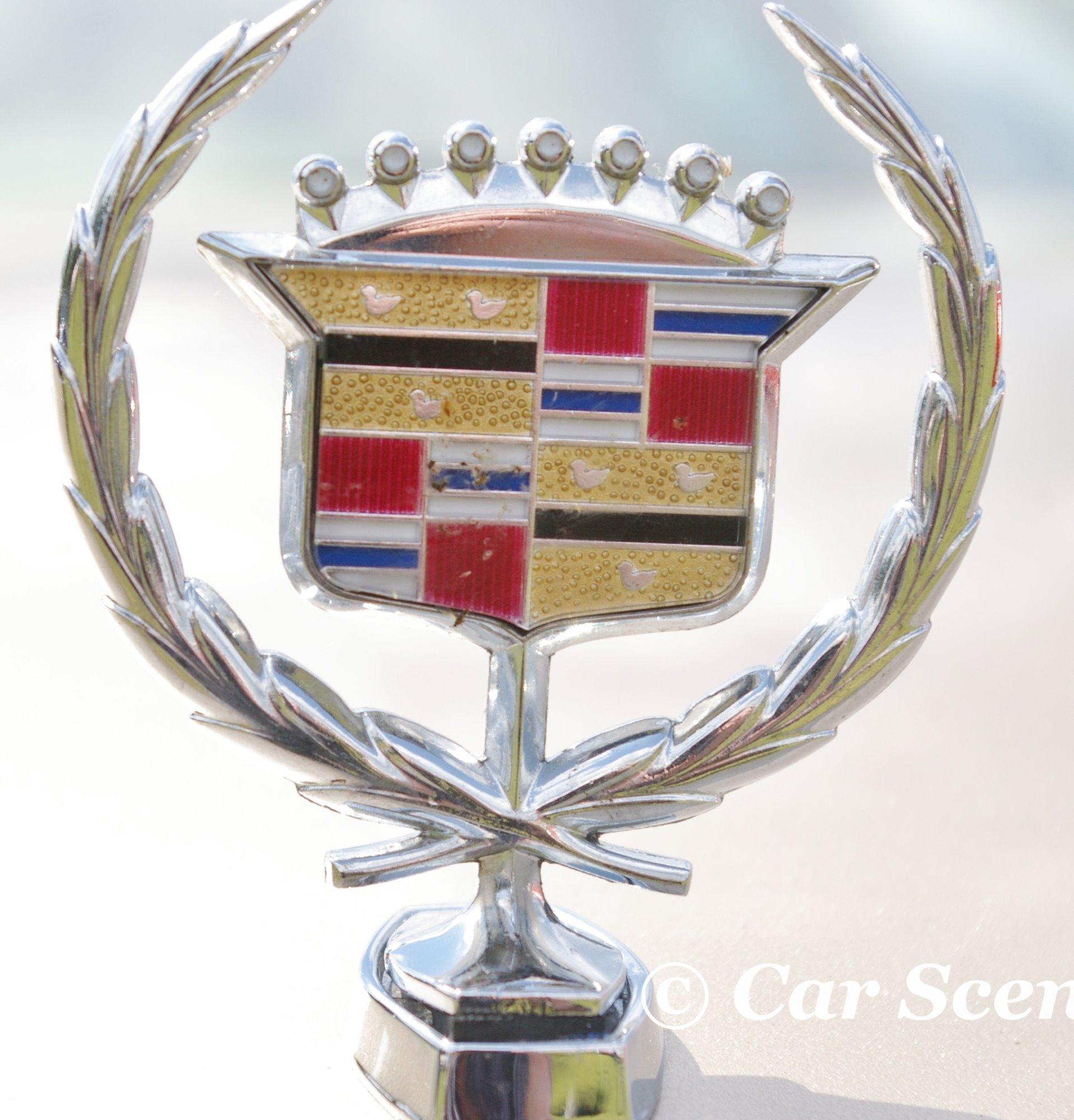 1989 Cadillac DeVille font badge