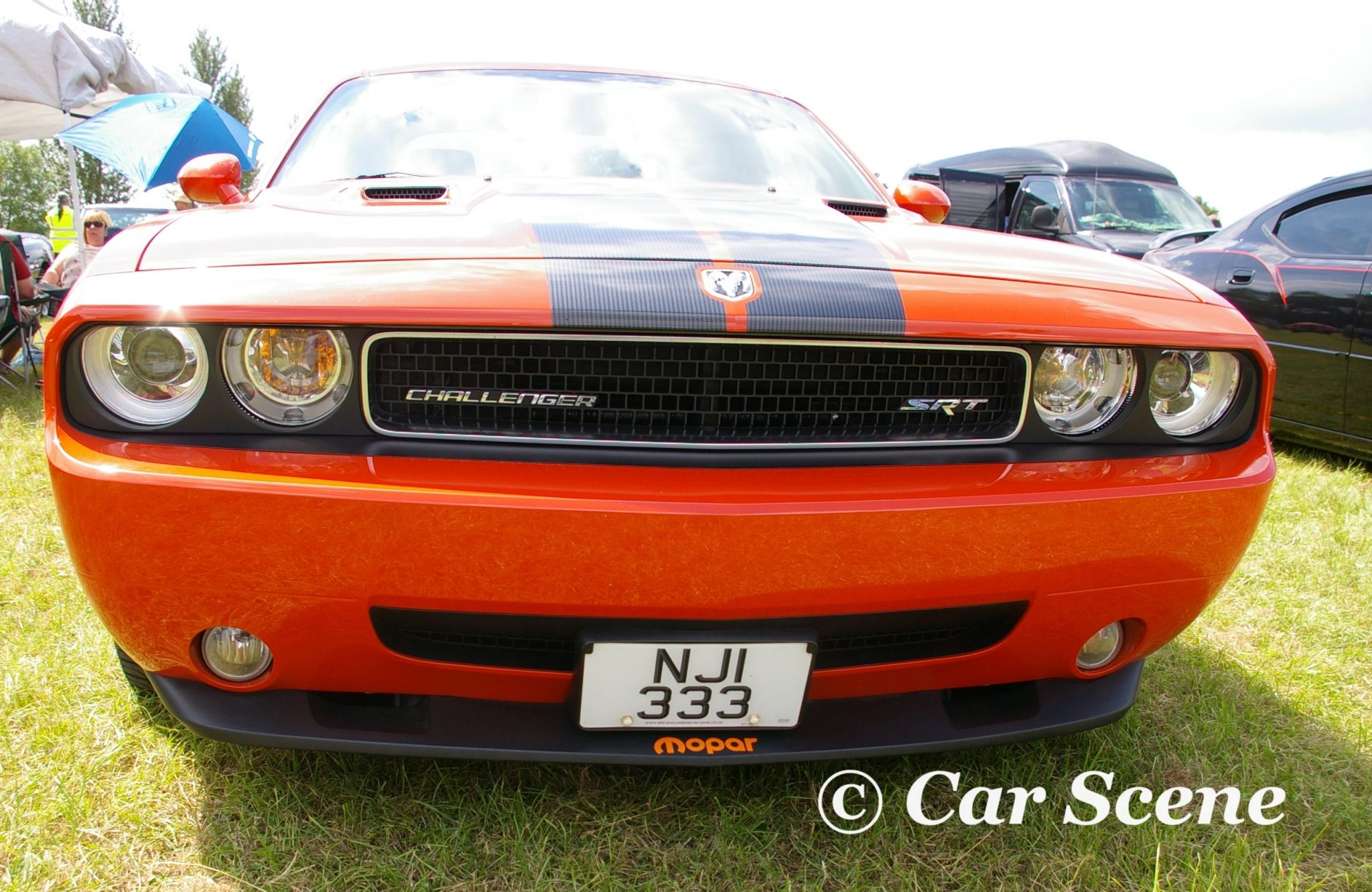 2008 Dodge Challenger SRT8 front view