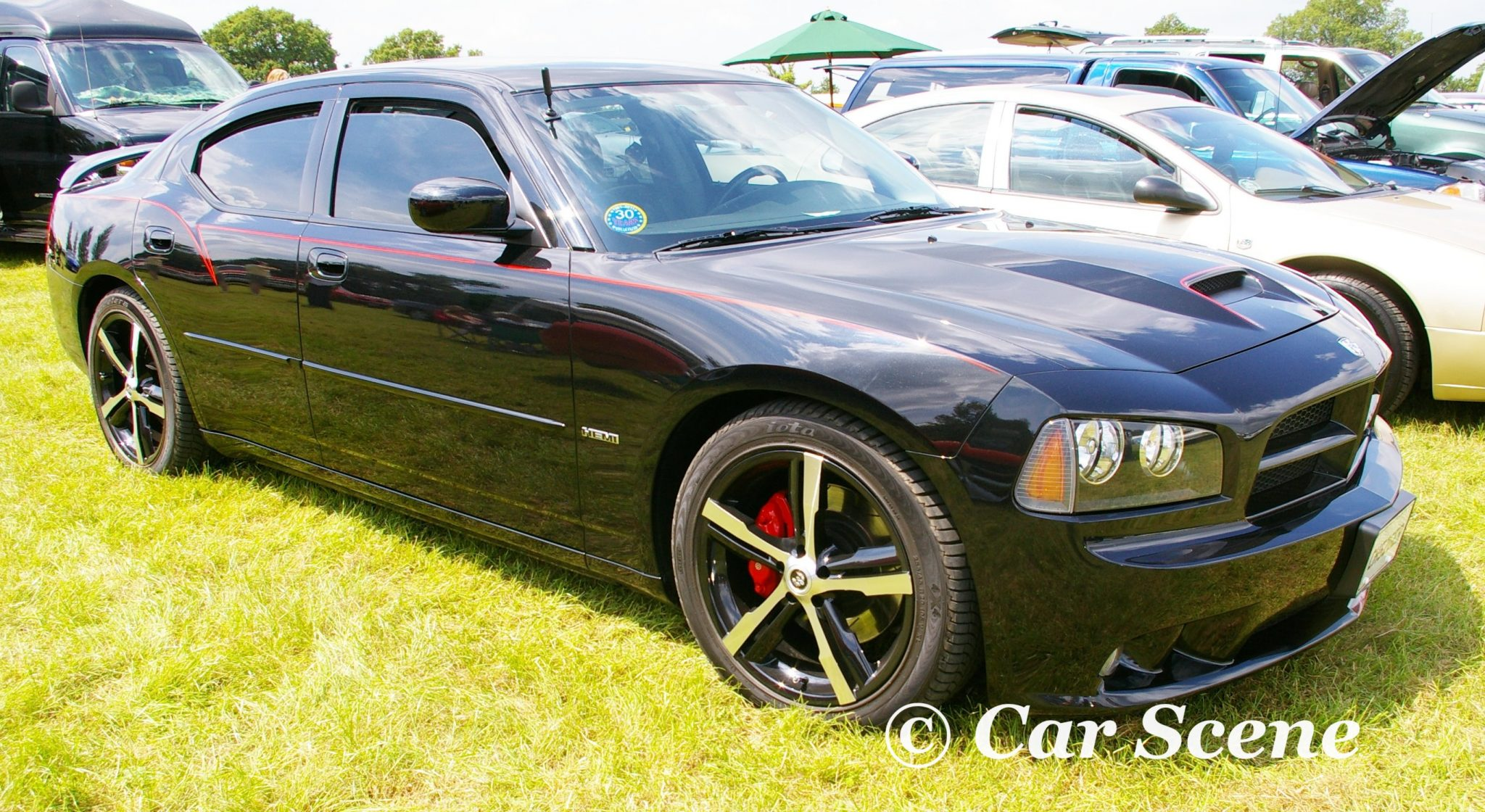 2007 Dodge Charger SRT8 front side view