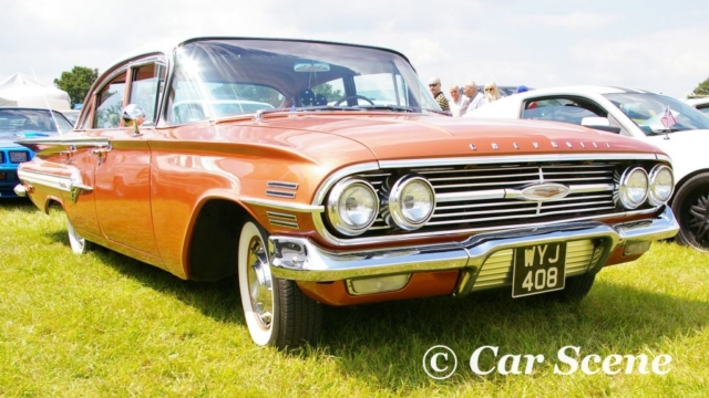 1960 Chevrolet Impala 4 door front view