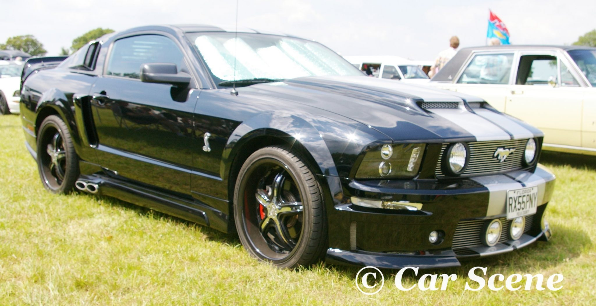 2005 Ford Mustang Shelby Cobra front three quarters view