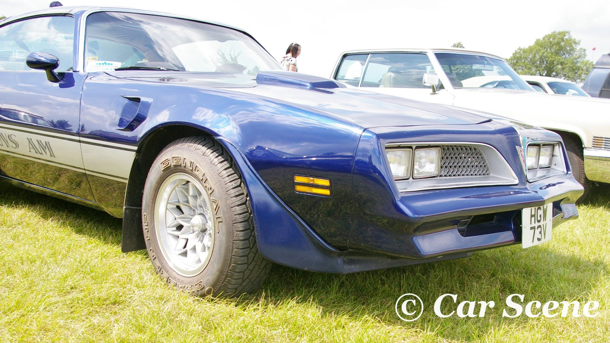 1977 Pontiac Firebird Coupe Trans Am front view