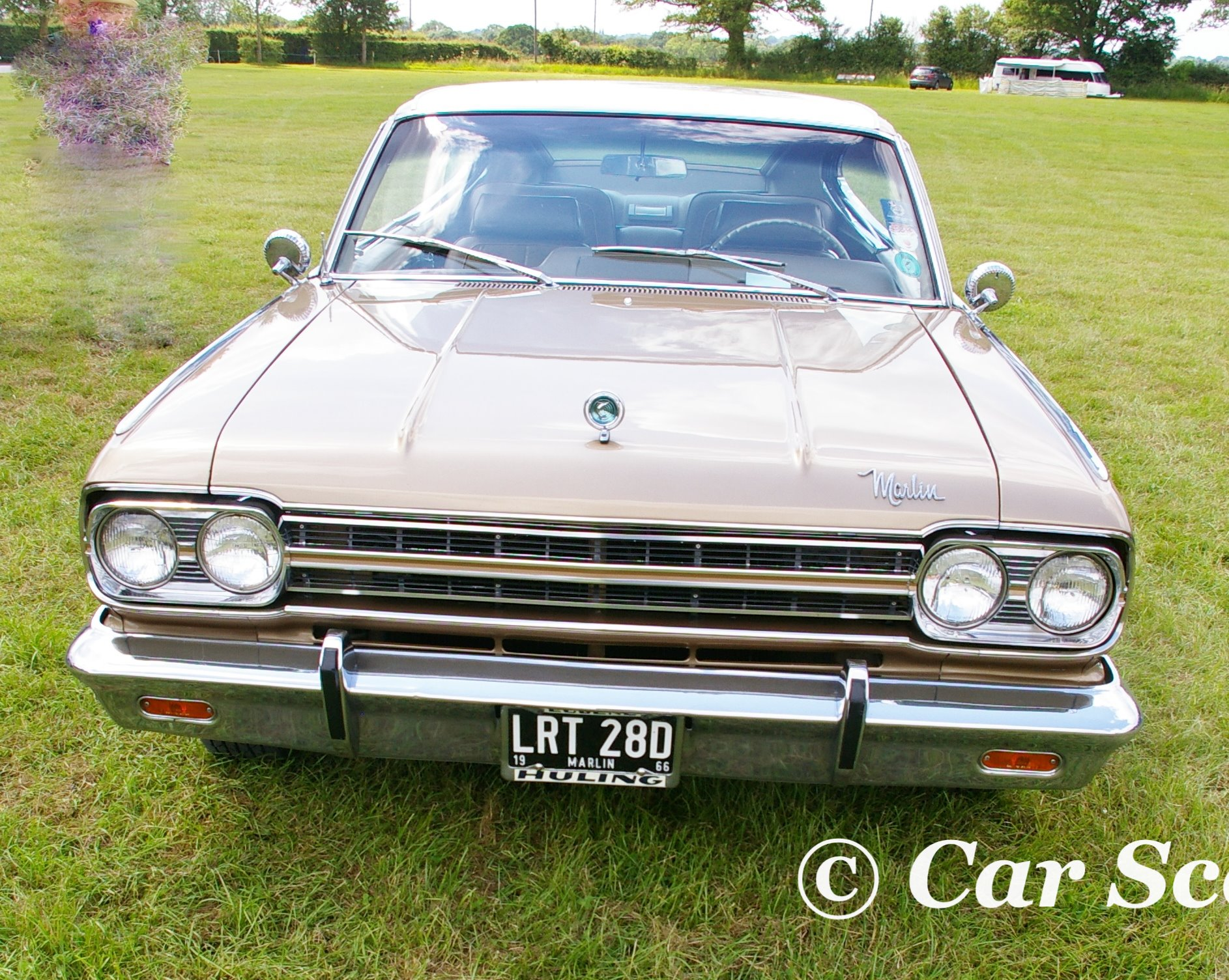 1966 AMC Marlin front view