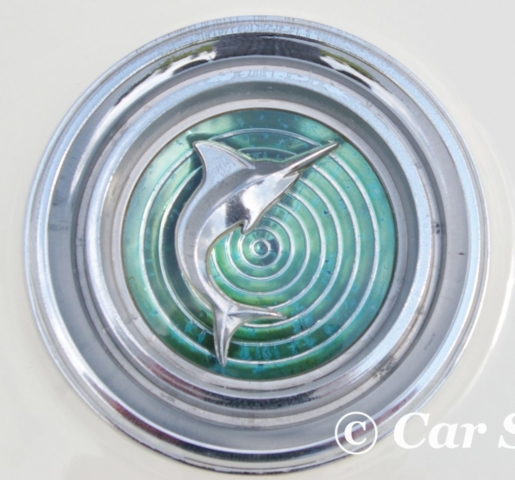 1966 AMC Marlin front badge