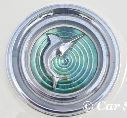 1966 AMC Marlin front badge