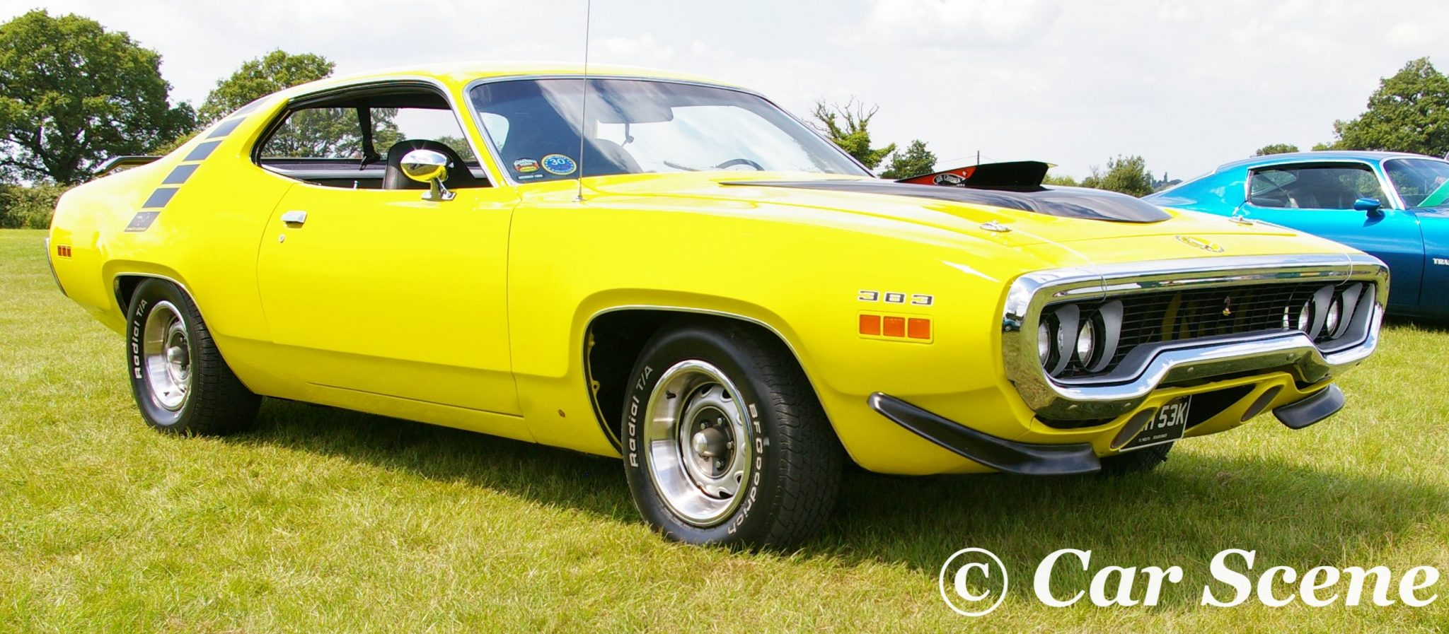 1972 Plymouth Road Runner II front three quarters view