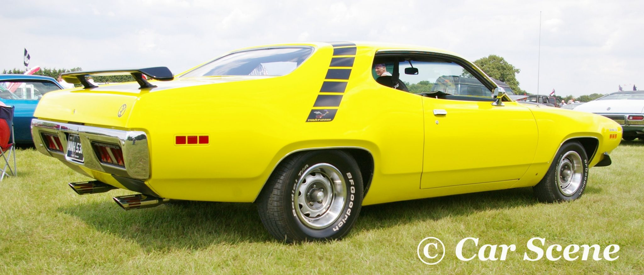 1972 Plymouth Road Runner II side view
