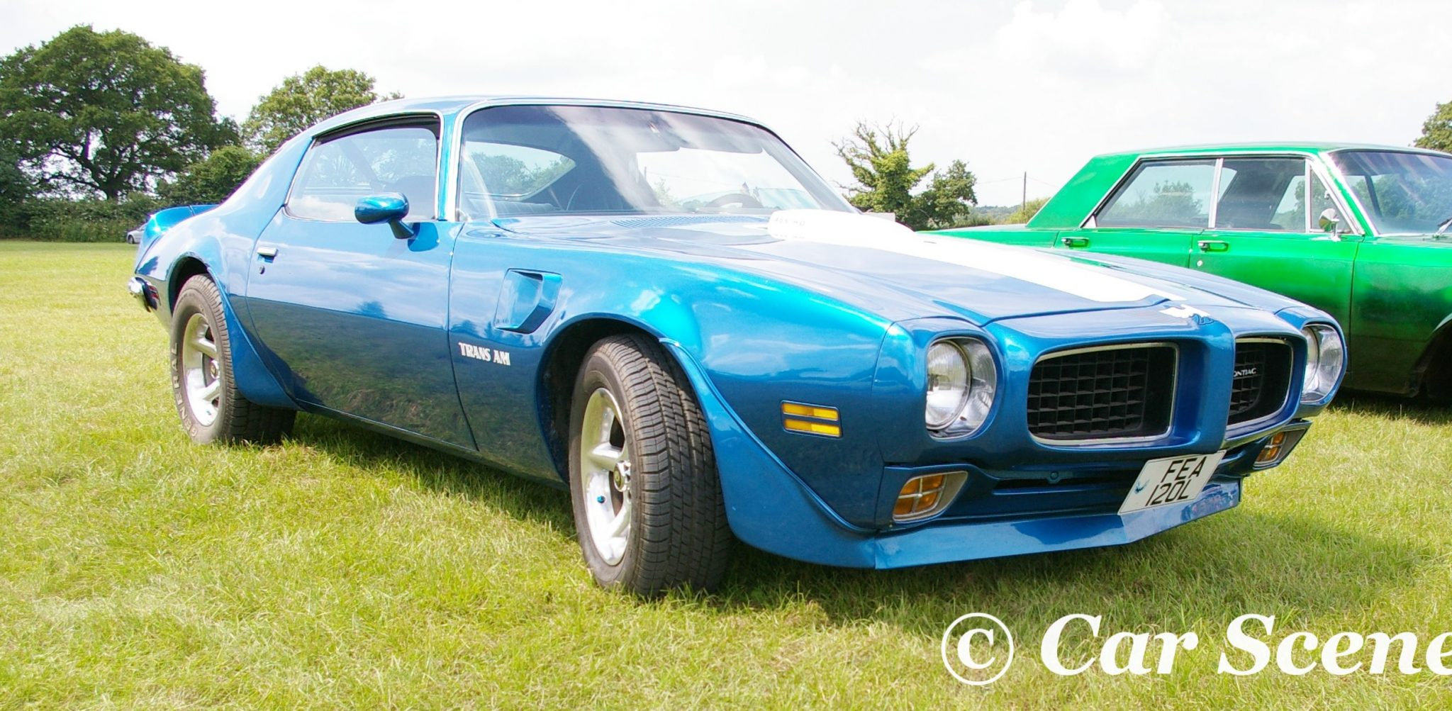 1973 Pontiac Firebird Coupe Trans Am front three quarters view