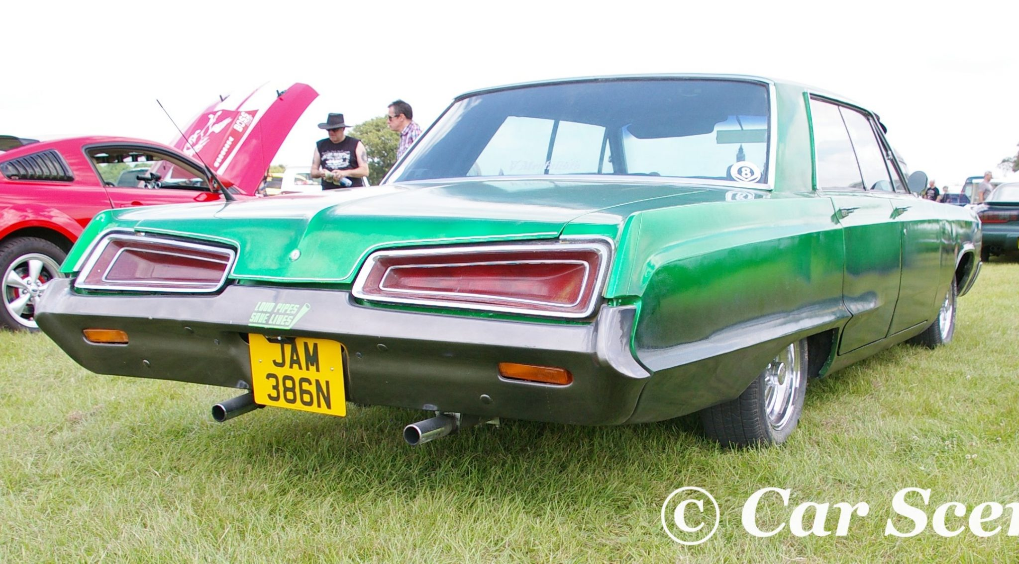 1968 Dodge Polara rear view