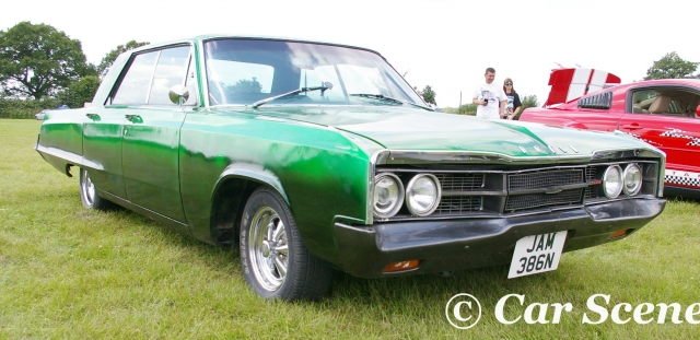 1968 Dodge Polara front three quarters view