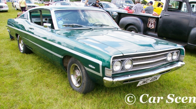 1968 Ford Torino front three quarters view