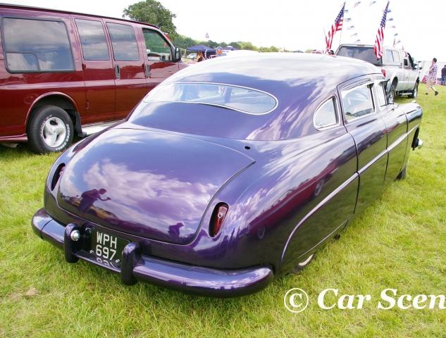 1952 Hudson Hornet rear three quarter view