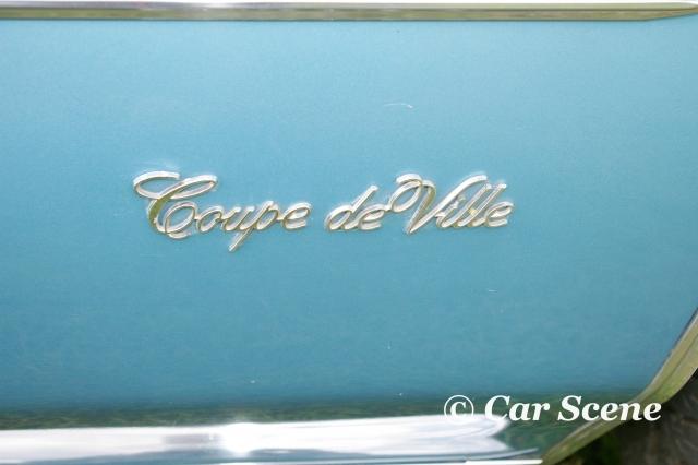 1971 Cadillac Coupe De Ville Badge front fender badge