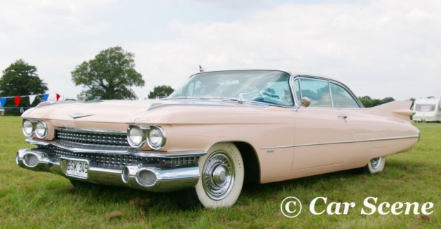1959 Cadillac Series 62 Coupe front three quarters view
