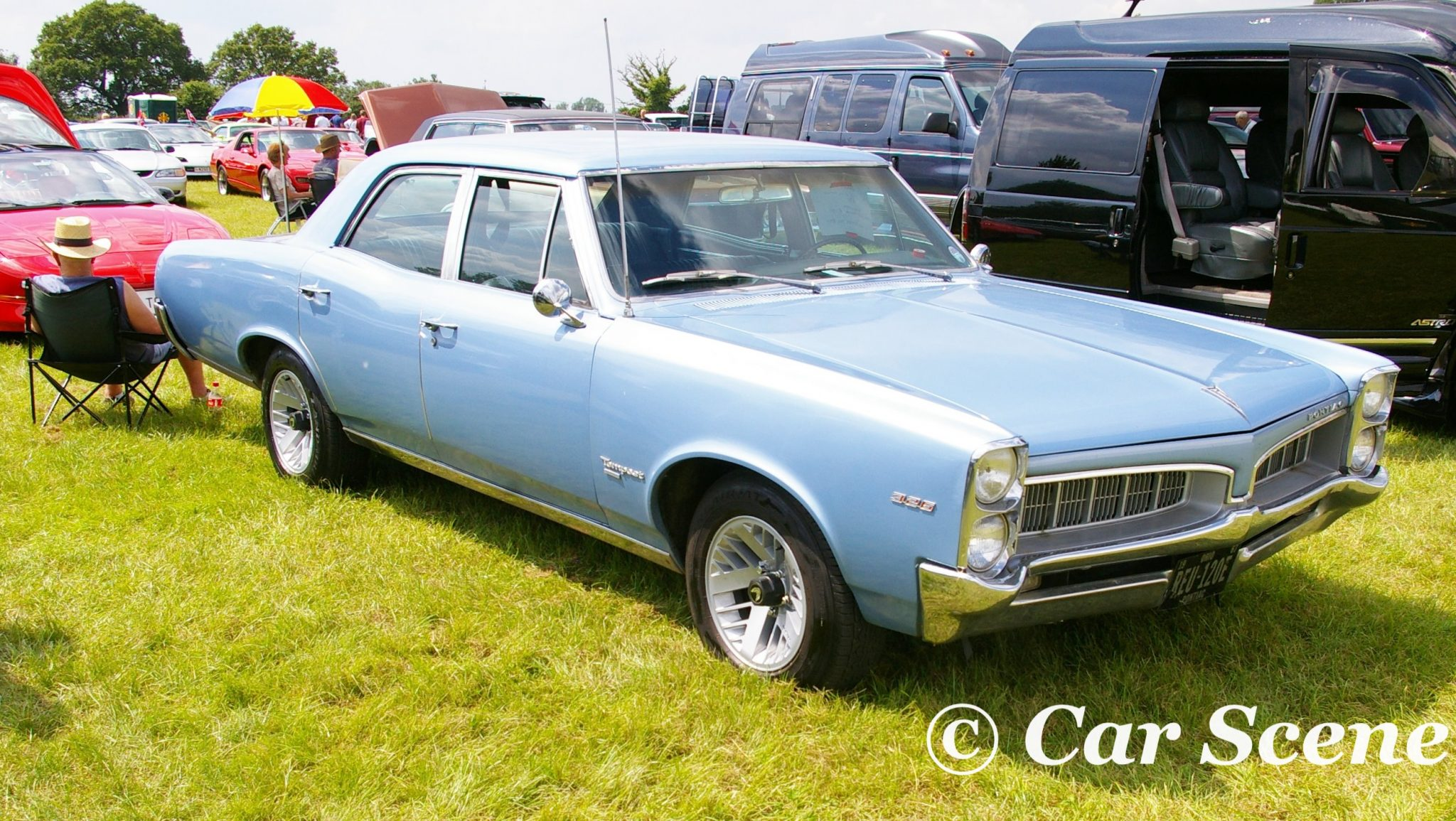 1960s Pontiac Tempest front three quarters view