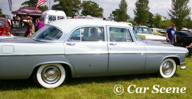 1956 Chrysler Windsor side view