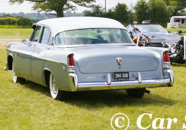 1956 Chrysler Windsor rear view
