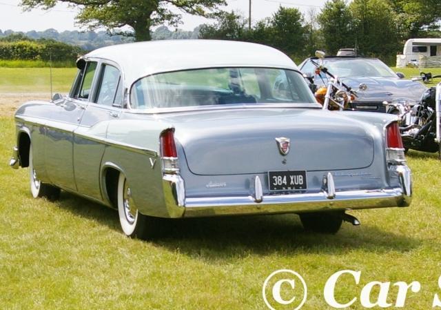 1956 Chrysler Windsor rear view