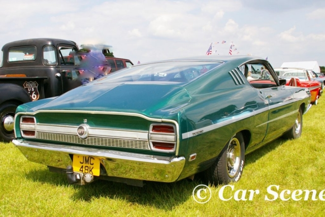 1968 Ford Torino rear three quarters view