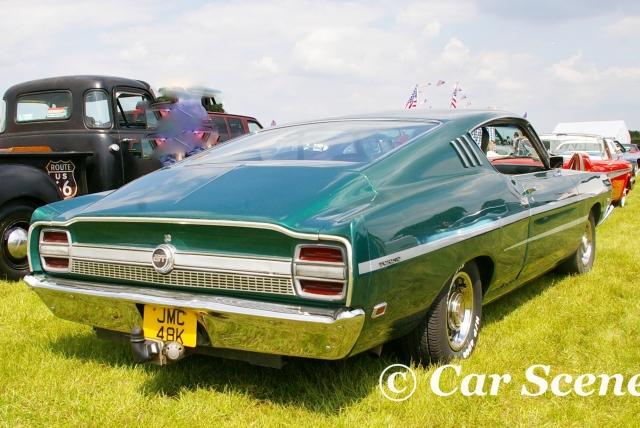 1968 Ford Torino rear three quarters view