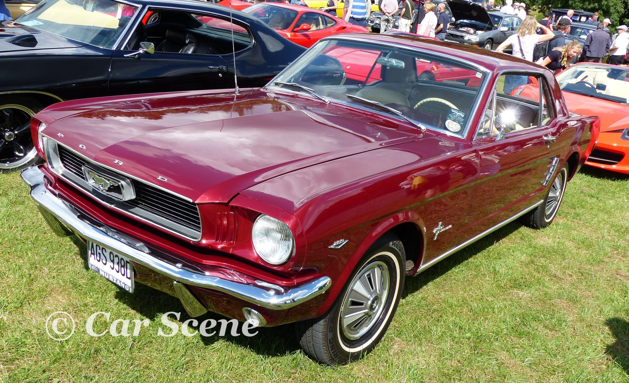 1964 Ford Mustang Front three quarters view